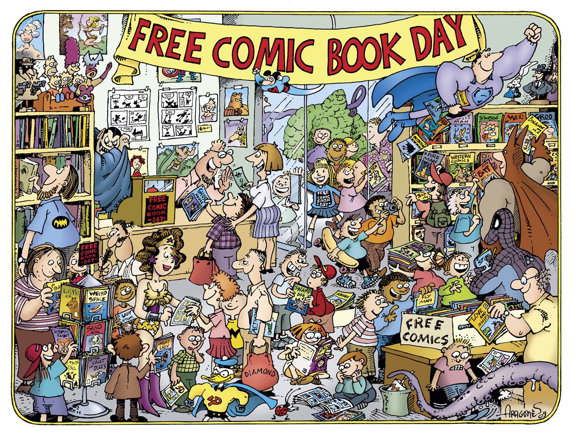 why you should celebrate free comic book day with your kid
